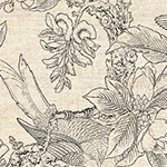 Chinoiserie - Chinoiserie in Natural/Charcoal