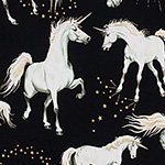 Stars of the Unicorn - Unicorns in Black